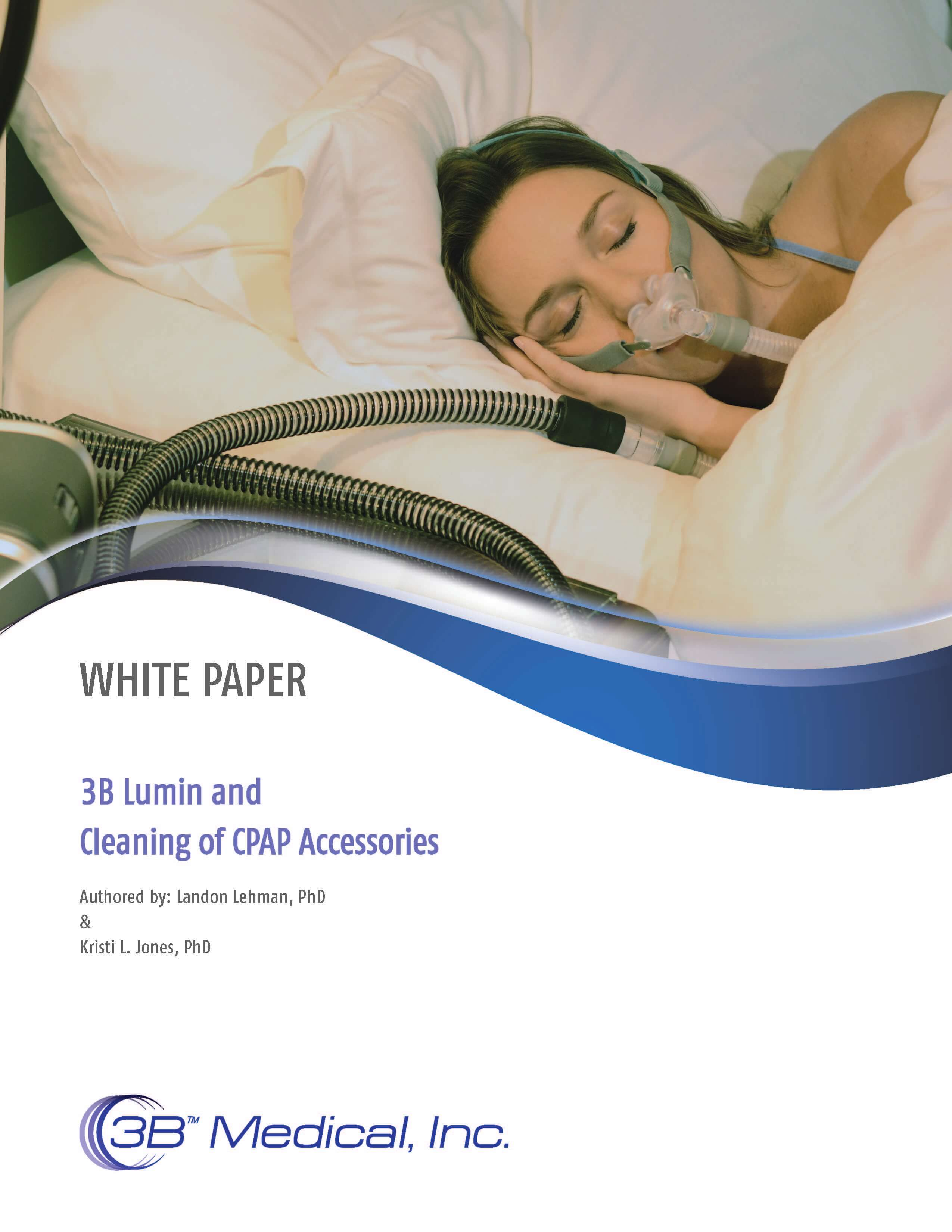 3B Lumin for CPAP Mask Cleaning