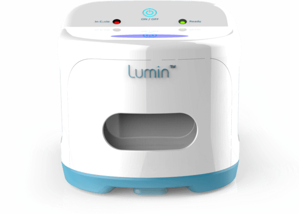 The Lumin UV CPAP cleaner