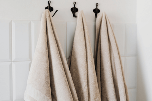 sanitize towels from germs